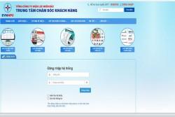 Tra cứu điện năng tiêu thụ hàng ngày trên Website CSKH của EVNNPC