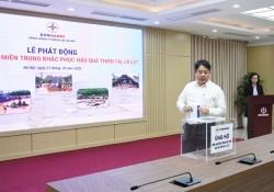 EVNHANOI quyên góp ủng hộ miền Trung khắc phục mưa lũ