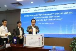 EVNNPC ủng hộ miền Trung khắc phục hậu quả do mưa lũ