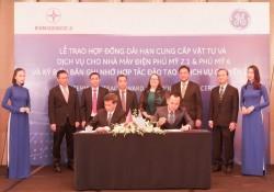 Ký hợp đồng cung cấp vật tư, dịch vụ cho Nhiệt điện Phú Mỹ 2.1, Phú Mỹ 4