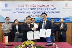 PV GAS và Đại học Bách khoa Hà Nội ký thỏa thuận tài trợ