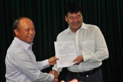 Bổ nhiệm Chủ tịch và Tổng giám đốc Công ty Lọc hóa dầu Bình Sơn