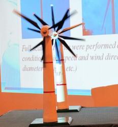 """Giảm giá thành điện gió bằng công nghệ """"2 lớp cánh đồng trục"""""""