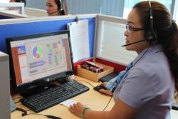 Trung tâm Chăm sóc khách hàng EVNHCMC hoạt động ổn định, hiệu quả