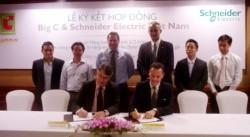"""Schneider Electric Việt Nam và Big C ký kết dự án """"Năng lượng mặt trời"""""""