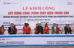 Khởi công Dự án thuỷ điện Trung Sơn