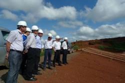 Tổng giám đốc Vinacomin kiểm tra tiến độ Dự án bauxite Tân Rai
