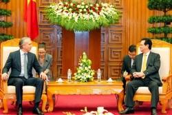 Thủ tướng ủng hộ Nga hợp tác dầu khí với Việt Nam