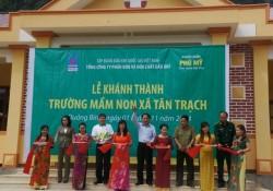 PVFCCo khánh thành hai trường học tại Quảng Bình
