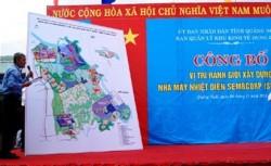 Công bố vị trí xây dựng Nhà máy nhiệt điện Dung Quất