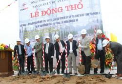 Động thổ dự án lưới điện Khu công nghiệp Yên Phong