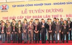 TKV tuyên dương thợ giỏi năm 2014