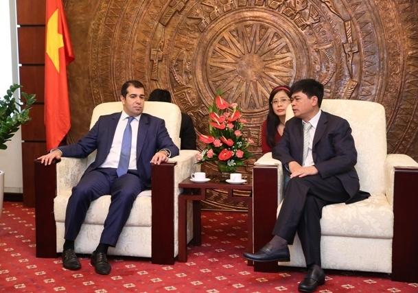 Promoting Vietnam - Azerbaijan  cooperation on petroleum field