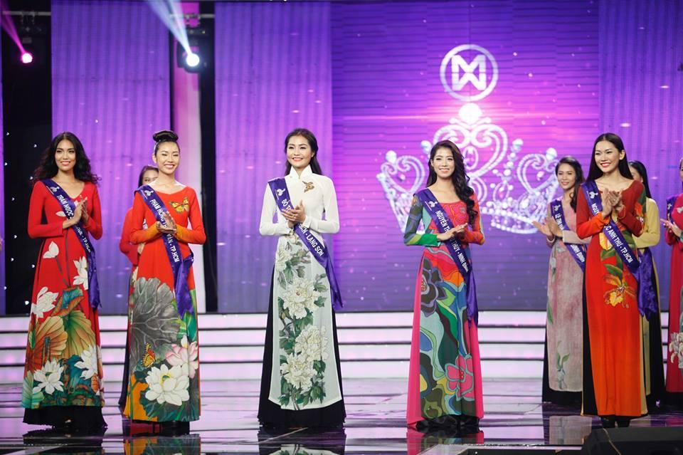 Top 16 Hoa khôi áo dài Việt Nam với trang phục dân tộc