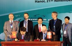 Thiết lập hợp tác nghiên cứu tiềm năng dầu khí Việt Nam