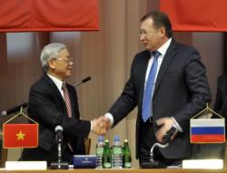 Dấu mốc mới trong quan hệ PetroVietnam - Zarubezhneft