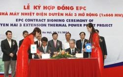Ký hợp đồng EPC dự án nhiệt điện Duyên Hải 3 mở rộng