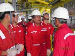 Dấu ấn điều hành của PVEP tại mỏ Sông Đốc