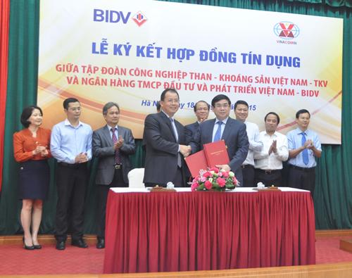 TKV và BIDV ký hợp đồng tín dụng 1