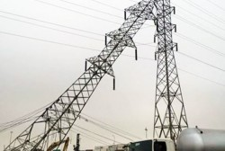 Thông tin về việc nghiêng cột điện 220kV tại Hải Phòng