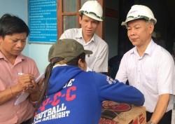 GENCO1 tặng quà cho người dân khắc phục hậu quả bão số 12
