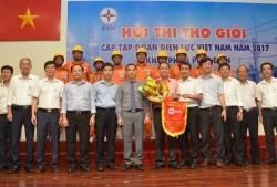 EVNHANOI đạt giải nhất Hội thi thợ giỏi khối phân phối điện