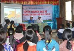 Truyền tải điện Kon Tum tuyên truyền về an toàn lưới điện