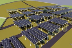 Chuẩn bị khởi công dự án điện mặt trời Trúc Sơn