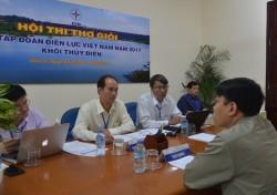 EVN khai mạc Hội thi thợ giỏi khối thủy điện