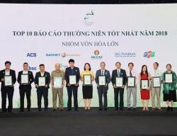 NT2: Top 10 Báo cáo thường niên tốt nhất 2018