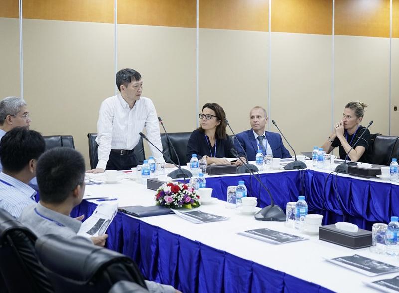 """Trao đổi về """"Mô hình LNG cho tổ hợp khí - điện Sơn Mỹ"""""""