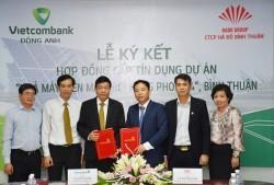 Ký hợp đồng tín dụng dự án điện mặt trời Hồng Phong 4
