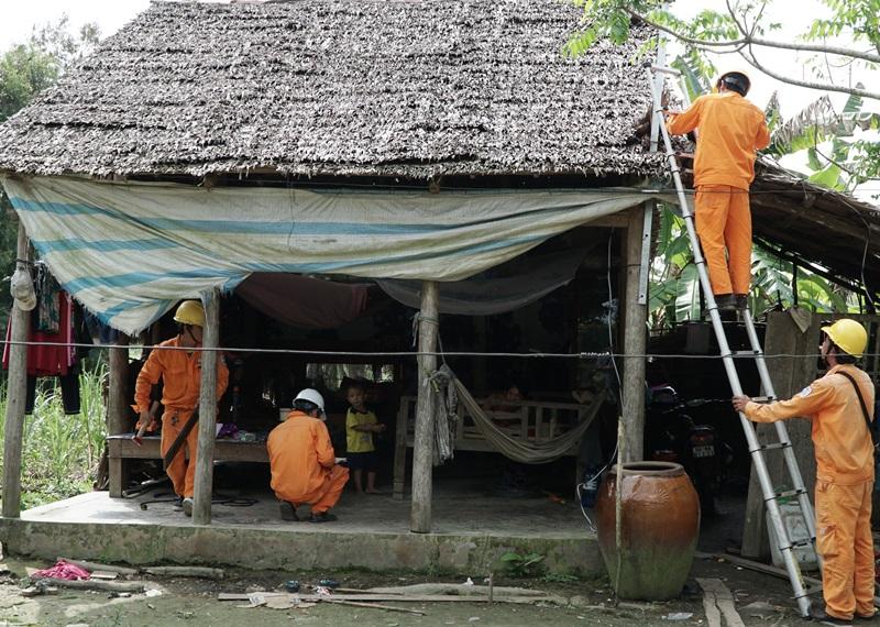 Hiệu quả chương trình điện khí hóa nông thôn các tỉnh phía Nam 1