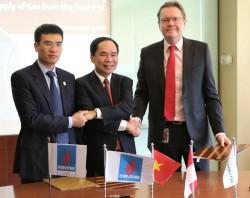 PVN - PV GAS ký thỏa thuận về việc cung cấp Khí từ mỏ Tuna