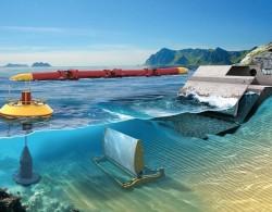 Xã đảo An Bình sẽ được cung cấp nguồn điện từ sóng biển
