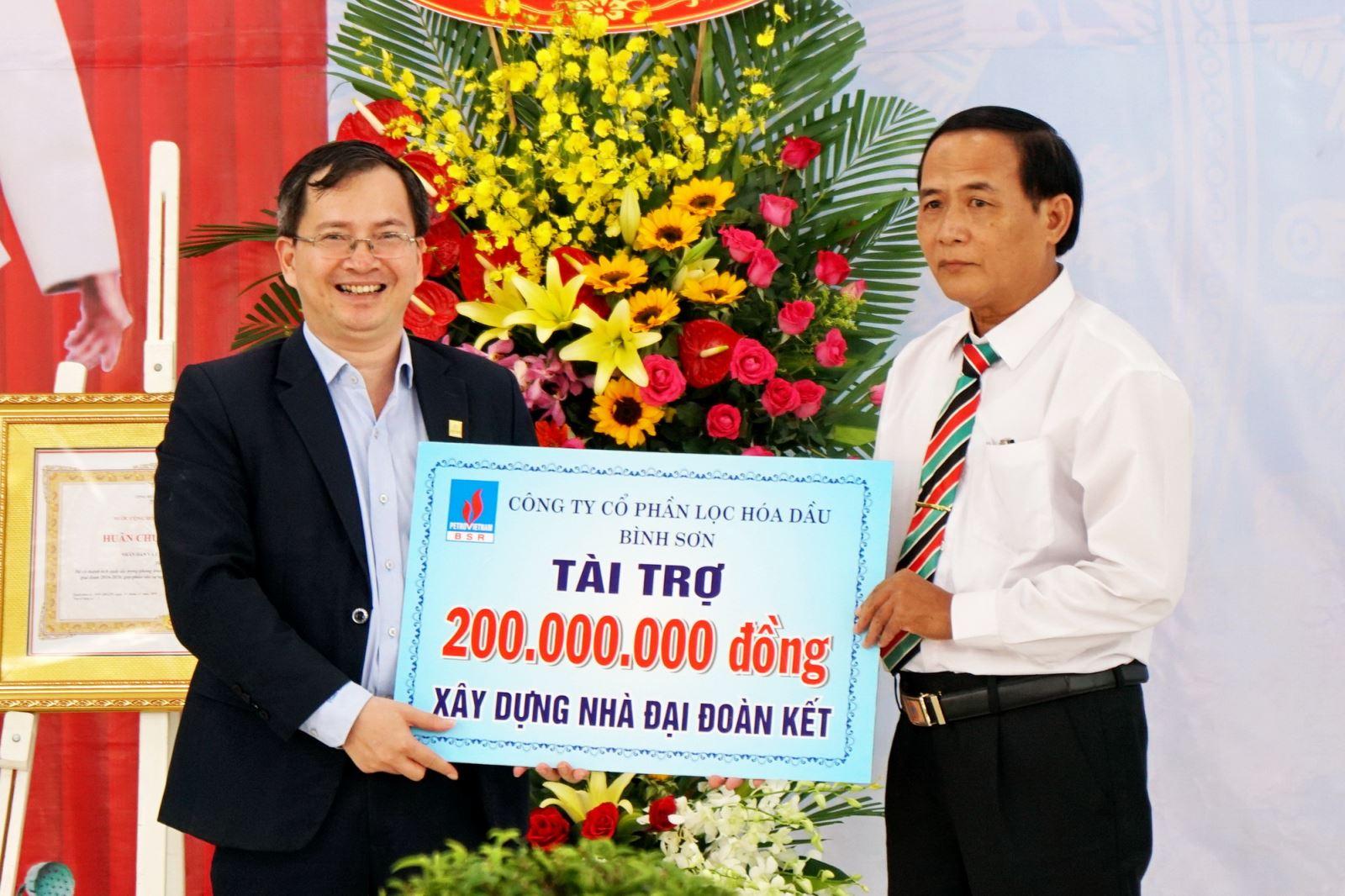BSR chung tay xóa đói giảm nghèo tại Quảng Ngãi