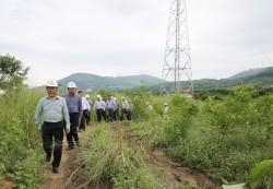 Đôn đốc tiến độ các dự án truyền tải điện khu vực Nam Trung bộ