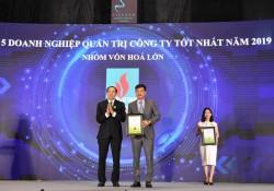 DPM được vinh danh Doanh nghiệp Quản trị công ty tốt nhất 2019