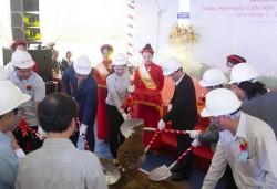 Khởi công xây dựng dự án điện gió đầu tiên ở Gia Lai
