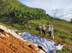 Tổng giám đốc EVNNPT kiểm tra khắc phục hậu quả bão số 9 tại PTC2