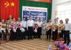 EVNSPC kết nạp 12 đảng viên tại Khu di tích Quốc gia Tà Thiết