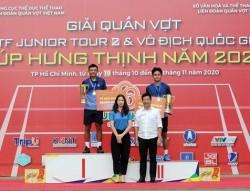 PV GAS đồng hành cùng Giải quần vợt Vô địch Quốc gia 2020