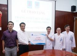 PV GAS trao tặng thiết bị y tế cho Bệnh viện Thống Nhất