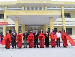 Khánh thành Trường Tiểu học Văn Thanh Tùng do BSR tài trợ kinh phí
