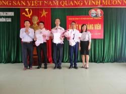 Đảng ủy Quacontrol kết nạp và công nhận đảng viên chính thức