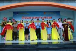 Khánh thành Trường Mầm non Hoa Hồng (Phú Yên) do BSR tài trợ kinh phí