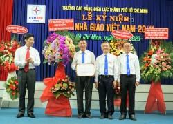 Trường Cao đẳng Điện lực TP. HCM mừng ngày Nhà giáo Việt Nam