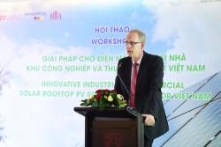 Giải pháp cho điện mặt trời mái nhà khu công nghiệp, thương mại ở Việt Nam