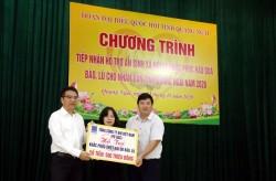 PV GAS tiếp tục ủng hộ người dân Quảng Ngãi bị ảnh hưởng do mưa lũ