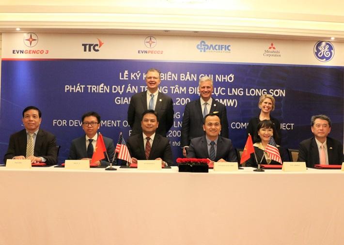 Ký bản ghi nhớ phát triển dự án Trung tâm Điện lực LNG Long Sơn (giai đoạn 1)